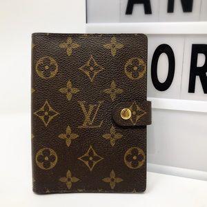 Louis Vuitton monogram small agenda PM cover
